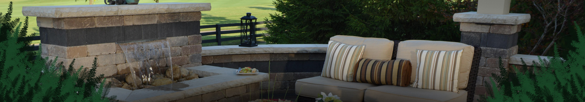 Outdoor living spaces for parties and daily living in Franklin, Wi